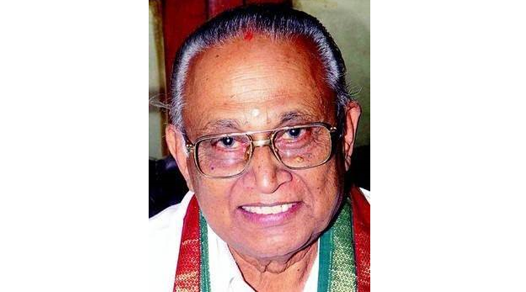 bb shivappa, shivappa dead, shivappa passes away, bjp karnataka, bangalore bjp, indian express