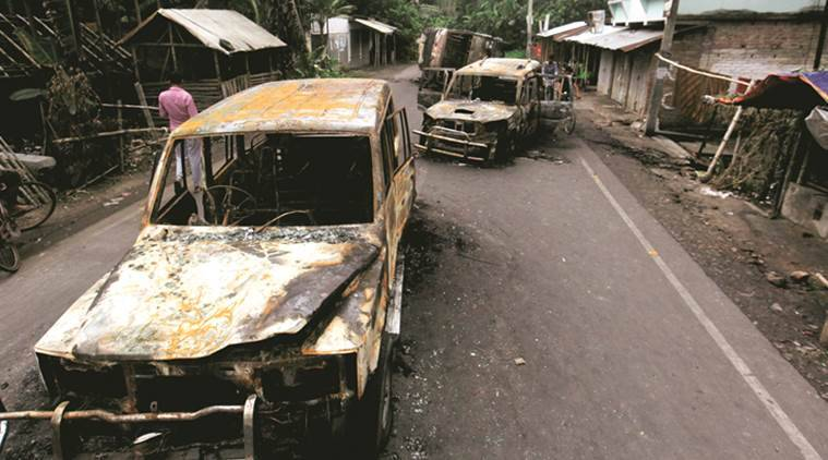 bengal violence, west bengal communal clash, bengal communal violence, baduria clashes, basirhat clashes, communal clashes, india news