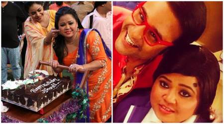 Bharti Singh celebrated her birthday on The Kapil Sharma Show, Krushna Abhishek, Haarsh Limbachiyaa wished her too. See photos