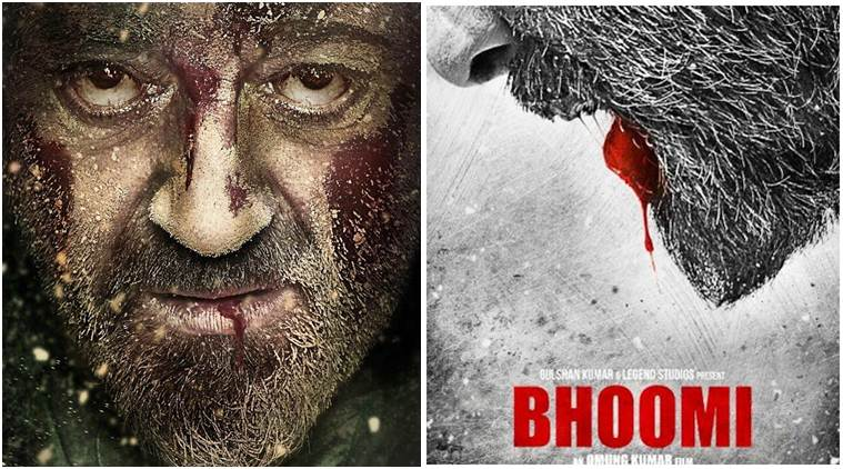 bhoomi poster, bhoomi new poster, bhoomi sanjay dutt poster, sanjay dutt,