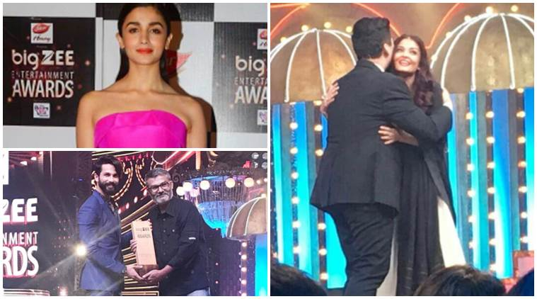 Big Zee Entertainment Awards 2017, Big Zee Entertainment Awards, Alia Bhatt, Shahid Kapoor, Aishwarya Rai Bachchan