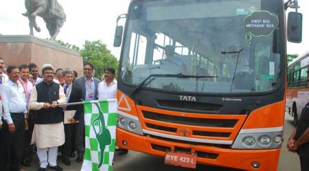 Tata Motors develops country's first biomethane bus