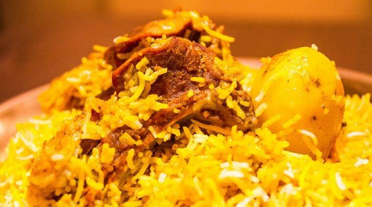 mango festival, mango biryani, biryani, biryani types, dishes from mango, eateries in lucknow, savoury mango dishes, Indian Express, Indian Express News