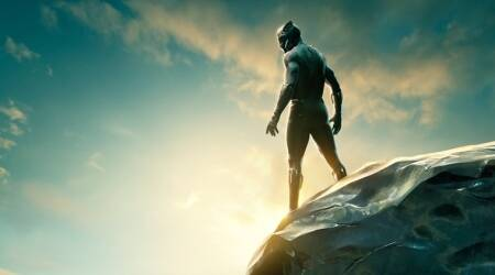 Marvel Universe's movie Black Panther's new poster has fans excited over the stunning scene of Wakanda. See photo