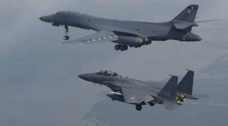 US bombers fly over South Korea after North's second ICBM test