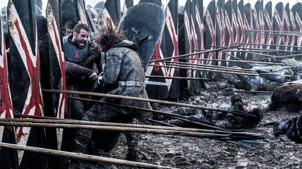 game of thrones, game of thrones season 6, battle of the bastards, ramsay bolton jon snow battle