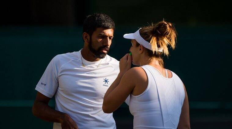 rohan bopanna, gabriela dabrowski, india wimbledon, wimbledon 2017, tennis news, sports news, indian express