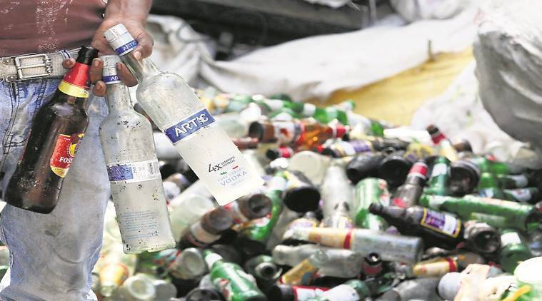 GST, glass bottles, delhi garbage collector, goods and services tax, Delhi news, Indian Express News