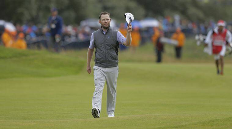 Branden Grace , British Open, Indian Express