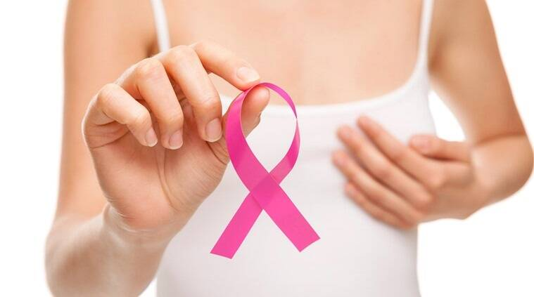 breast cancer, cure for breast cancer, tumor growth in breast cancer, Indian Express, Indian Express News