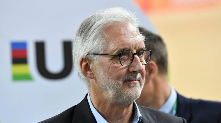 Brian Cookson, UCI,David Lappartient, Indian Express