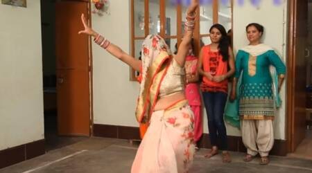 WATCH: This newly-wed bride in a ghunghat dancing is breaking the Internet