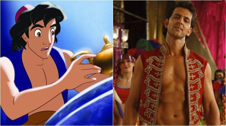 disney, disney aladdin, disney aladdin actors, disney aladdin actor suggestions, disney aladdin dev patel, disney aladdin fawad khan, disney aladdin hrithik roshan, indian express, indian express news