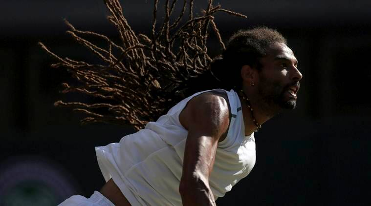 Wimbledon 2017, Dustin Brown, Andy Murray, Rafael Nadal, Brown Wimbledon, Tennis news, sports news, indian express