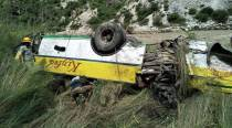 Himachal Pradesh: At least 28 killed as bus rolls down gorge