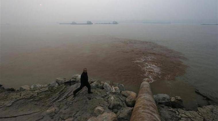 China Water Pollution, China Murky Water, China Sewage Firms, China Industrial Water Pollution, China, World News, Latest World News, Indian Express, Indian Express News