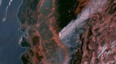 Evacuation orders lifted but California wildfire rageson