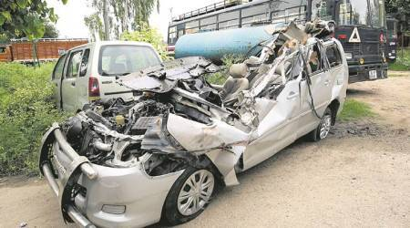 Crash that killed five: Truck driver arrested, doesn't have a licence