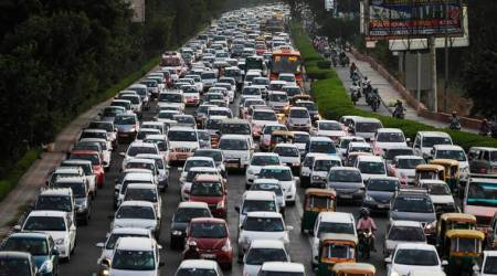 More the traffic congestion, more the amount of carbon emitted