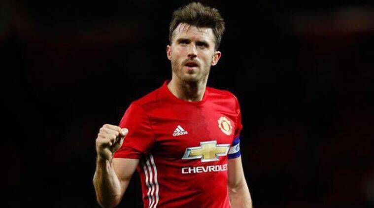 Michael Carrick, carrick, wayne rooney, rooney, Premier League, Old Trafford, manchester united, football, sports news, indian express