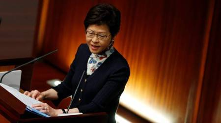 Political reform very sensitive, very difficult: Hong Kong leader Carrie Lam