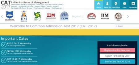 CAT 2017 answer keys and objection form released at iimcat.ac.in