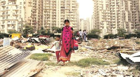 Noida slum demolition strains ties between two sets of migrants- from UP and Bengal