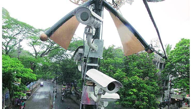 Aam Aadmi party, CCTV delhi, AAP cctv, satyandra jain, PWD minister, indian express, india news