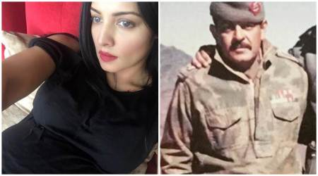 Mom-to-be Celina Jaitly shares an emotional message for her late father. See photos