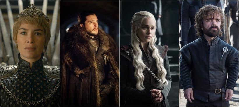 cersei, jon snow, daenerys, tyrion, game of thrones