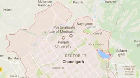 Chandigarh: Five injured after luxury car hits tree