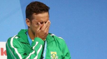 Chad le clos, world championships, rio olympics, michael phelps, chad le clos south africa, chad le clos swimming, swimming news, sports news, indian express