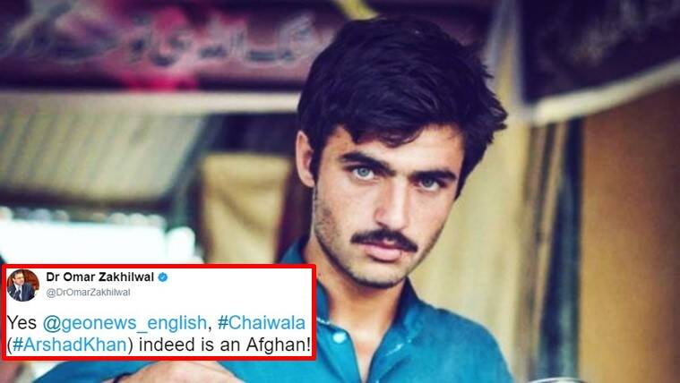 pakistani chaiwala, chaiwala from pakistan, famous pakistan chaiwala, chaiwala not pakistani? chaiwala afghani, chaiwala not pakistani twitter, arshad khan pakistani, arshad khan chaiwala pakistani, indian express, indian express