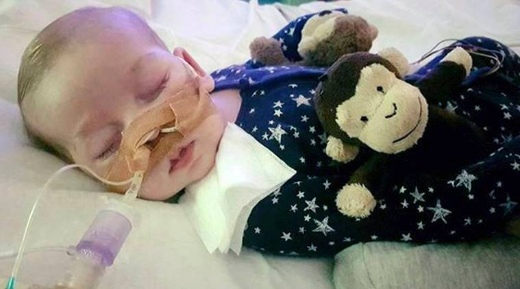 Charlie Gard, baby at center of worldwide dispute, dies in hospice