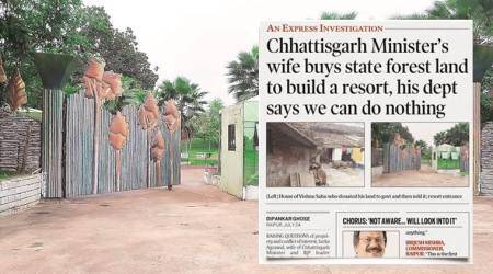 Wife's land: Chhattisgarh Minister says didn't know status, records sayotherwise