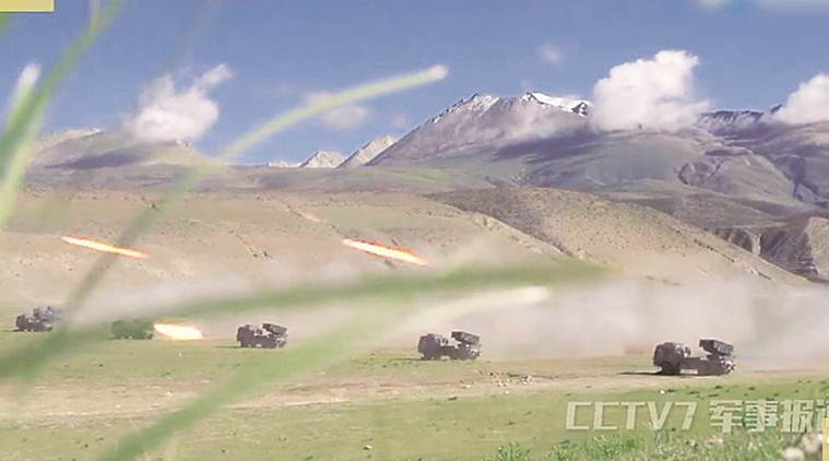 doklam stand-off, india-china standoff, pla, indian forces,chinese forces, People's Liberation Army, PLA drill, P-5 drill,Tibetan plateau, dolam plateau