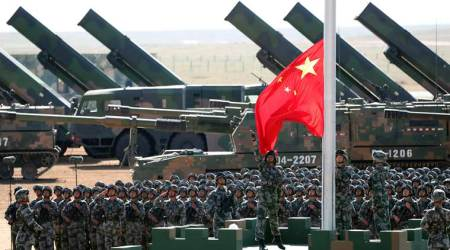 China's military flexes muscles for domestic objective: more funding