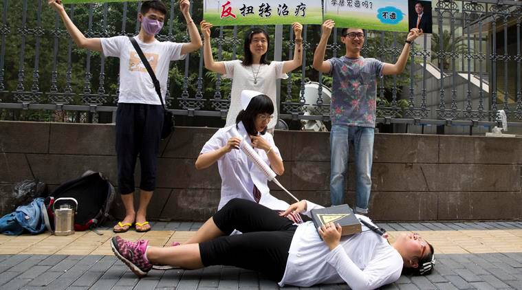 Lgbt, gay, china lgbt, china gay, gay therapy, china anti gay, latest news, latest world news