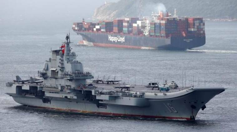 Chinese aircraft carrier, Chinese aircraft carrier in Hong Kong, China aircraft carrier, China's aircraft carrier Liaoning, China aircraft carrier news, Latest news, International news, world news