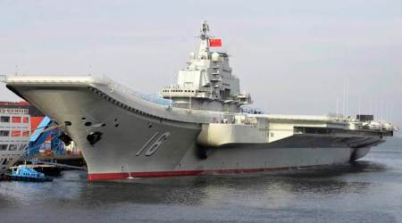 China warships conduct live fire drills in MediterraneanSea