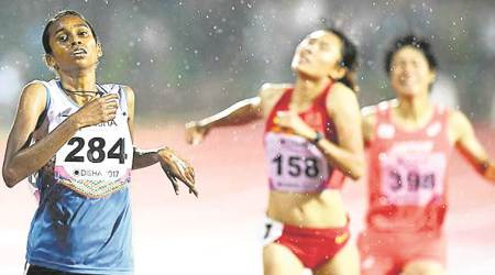 P U Chitra, Chitra athlete, athletics world championships