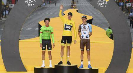 Chris Froome, Chris Froome races, Tour de France, sports news, Indian Express