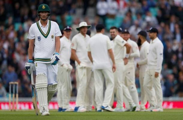 Toby Roland-Jones, Moeen Ali, England vs South Africa, Eng vs SA, Oval 100th Test, South Africa tour of England photos, Cricket photos, Indian Express