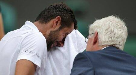 Tears were because I wasn't able to give my best in the Wimbledon final, says Marin Cilic