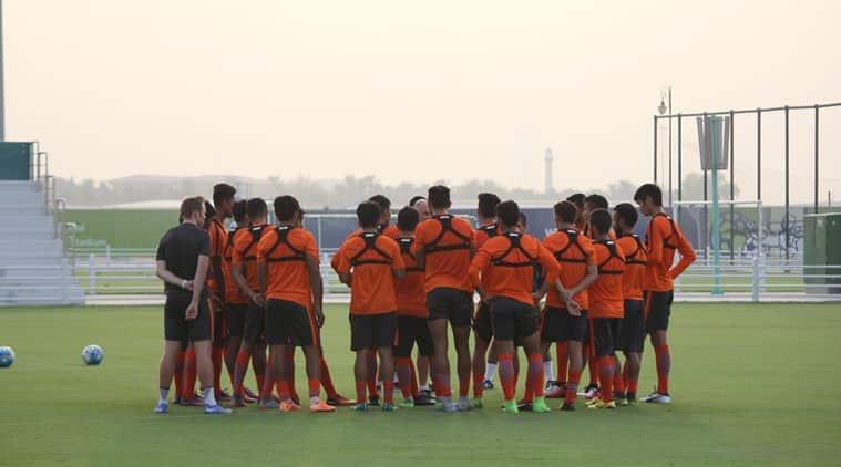 Stephen Constantine, India vs Qatar, AFC U23 Championship qualifier