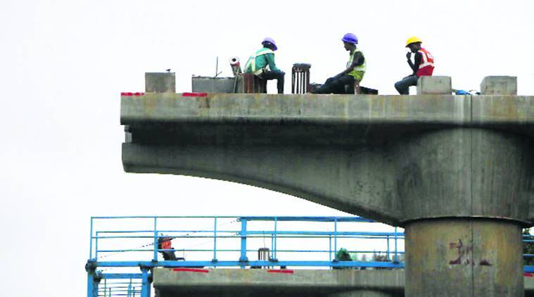 Mumbai Aarey Colony, Aarey Colony metro construction land, Shiv Sena, BMC, mumbai news, indian express news