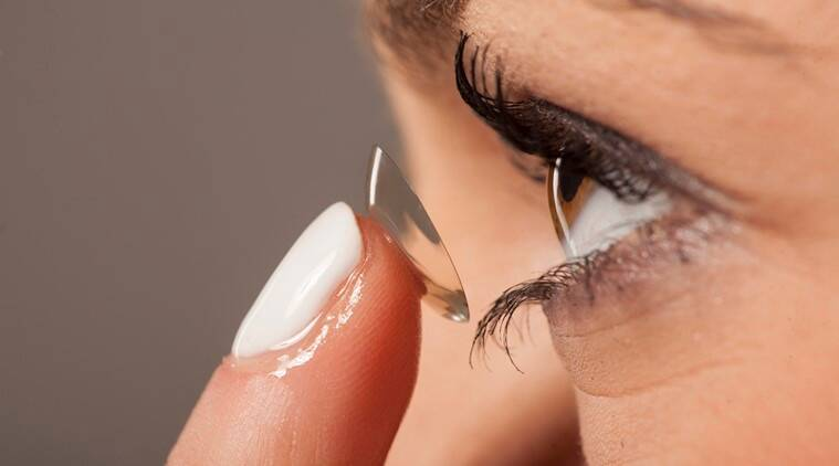 Contact Lenses Found Inside A Woman's Eye