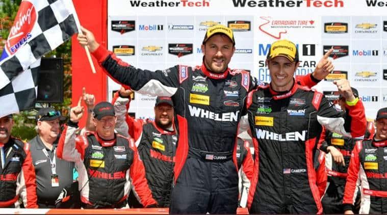 Dane Cameron, Eric Curran, IMSA, SportsCar Championship race, Canadian Tire Motorsport Park