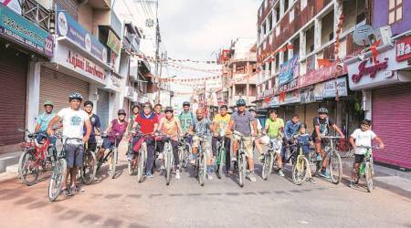 For Vadodara engineer, formula for clean future: Two wheels, no fuel