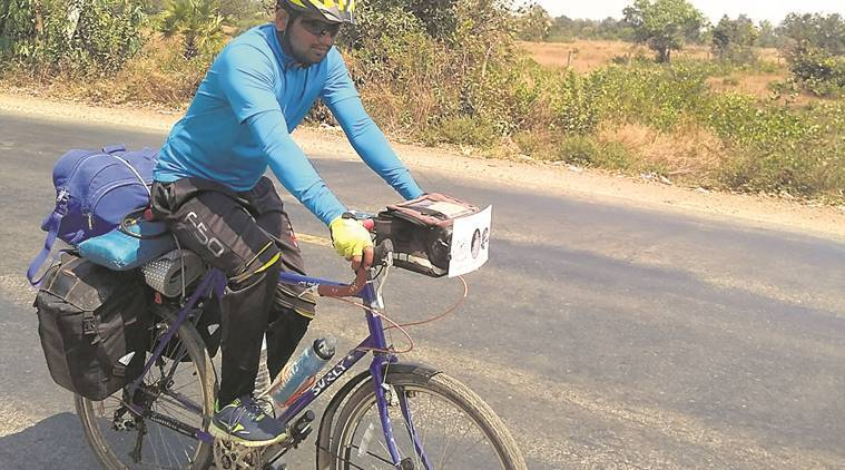 shanti padyatra, nuclear arms free world, pune engineer, cycling journey around the world, nitin sonawane, World Peace and Friendship Movement, WPFM, indian express